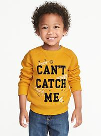 """Can't Catch Me"" Sweatshirt for Toddler Boys"