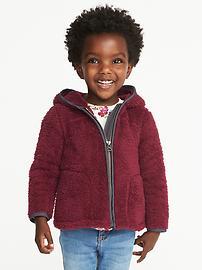 Cozy Micro Fleece Hoodie for Toddler Girls