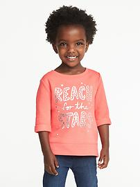 Graphic Fleece Sweatshirt for Toddler Girls