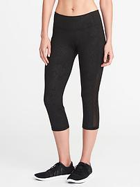 Capri Go-Dry à taille mi-haute avec poches sur les côtés pour femme