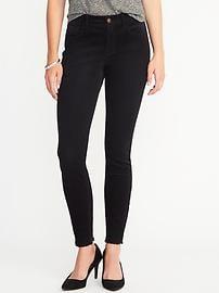 Pantalon en velours côtelé Rockstar à taille moyenne pour femme