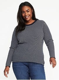 Plus-Size Zip-Back Sweater