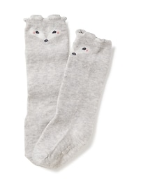 Knee-High Critter Socks for Toddler & Baby