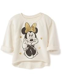 Disney&#169 Minnie Mouse Hi-Lo Sweatshirt for Toddler Girls