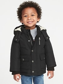 Frost Free Hooded Jacket for Toddler Boys