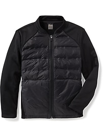 Go-Warm Insulated Bomber Jacket for Boys