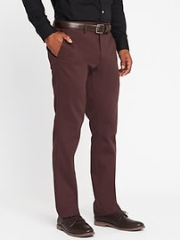 Straight Signature Built-In Flex Non-Iron Pants for Men