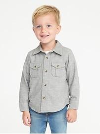 Chemise avec pièce de renfort aux coudes pour tout-petit