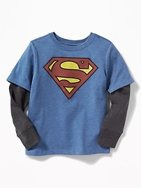 DC Comics&#153 Superman 2-in-1 Tee for Toddler Boys