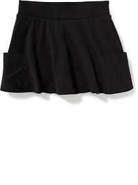 Jupe-culotte circulaire en jersey pour fille