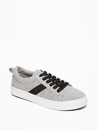 Jersey Lace-Up Sneakers for Boys