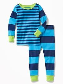Pyjama àrayures pour tout-petit et bébé