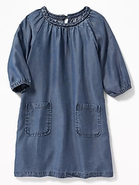 Tencel&#174 Swing Dress for Girls