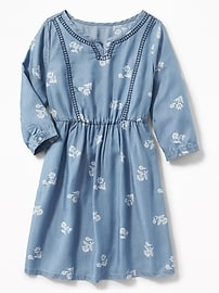 Embroidered Tencel&#153 Dress for Girls