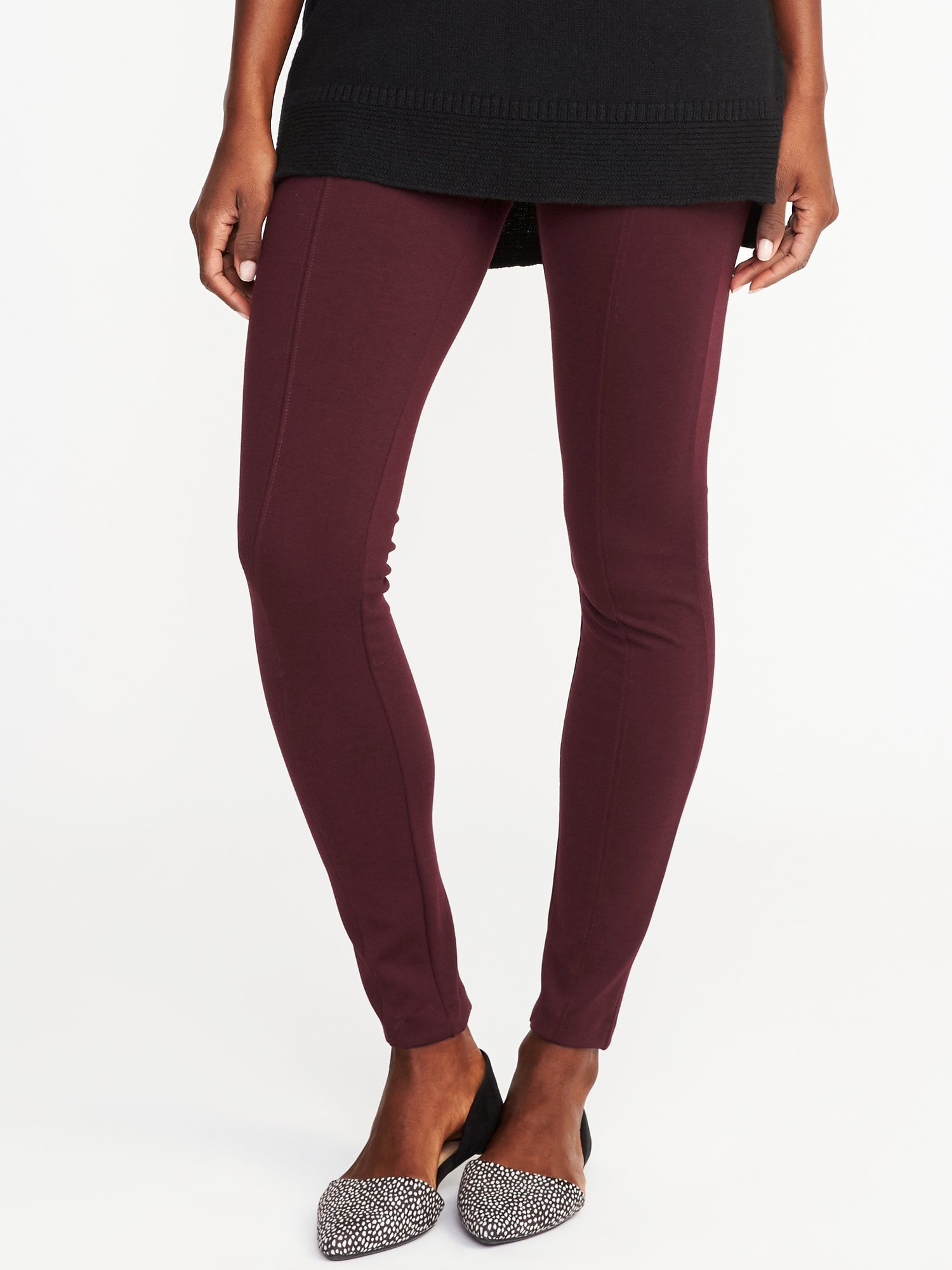 fbb9966b368a High-Rise Stevie Ponte-Knit Pants for Women | Old Navy