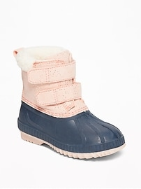 Sparkle Snow Boots for Toddler Girls