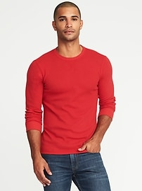 Soft-Washed Built-In Flex Thermal Tee for Men