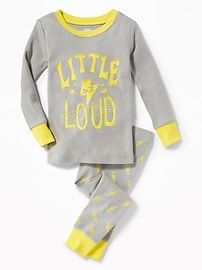 """Little But Loud"" Sleep Set for Toddler & Baby"