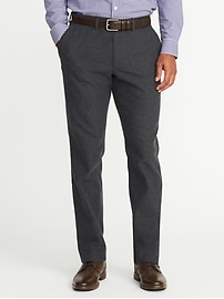 Straight Signature Built-In Flex Dress Pants for Men