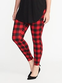 Plaid Plus-Size Stevie Pants
