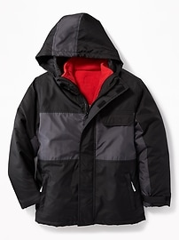 3-in-1 Water-Resistant Snow Jacket for Boys