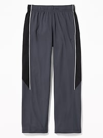 Go-Dry Mesh Track Pants for Boys
