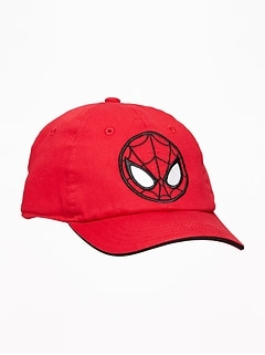 Casquette de baseball Spiderman de Marvel Comics pour tout-petit garçon et bébé