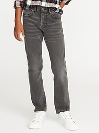 Skinny Built-In-Flex Max Gray Karate Jeans for Boys