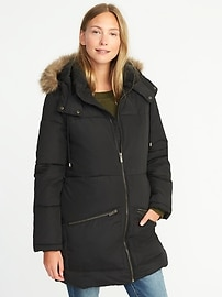 Long Frost-Free Hooded Parka for Women