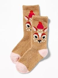 Chaussettes douillettes imprimées pour tout-petit et pour bébé