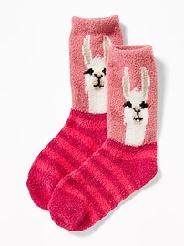 Graphic Cozy Socks for Toddler & Baby