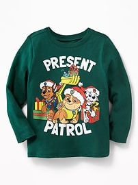 Paw Patrol&#153 Holiday-Graphic Tee for Toddler Boys