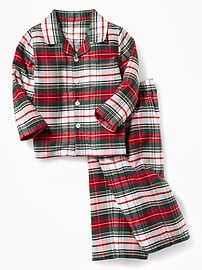 2-Piece Flannel Sleep Set for Toddler & Baby