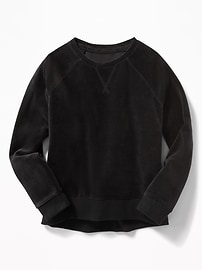 Velour Sweatshirt for Girls