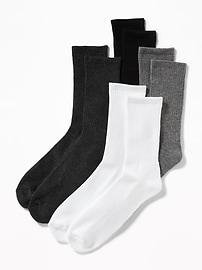 Crew-Socks 4-Pack for Men
