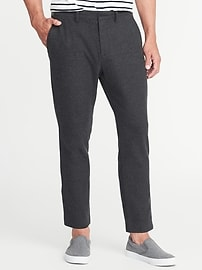 Relaxed Slim Signature Built-In Flex Cropped Trousers for Men