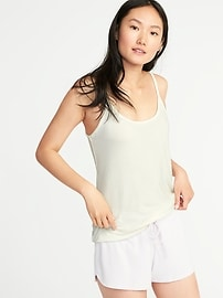 Relaxed Brushed-Knit Sleep Cami for Women
