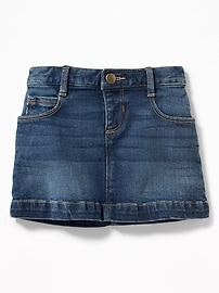 Denim Mini for Toddler Girls