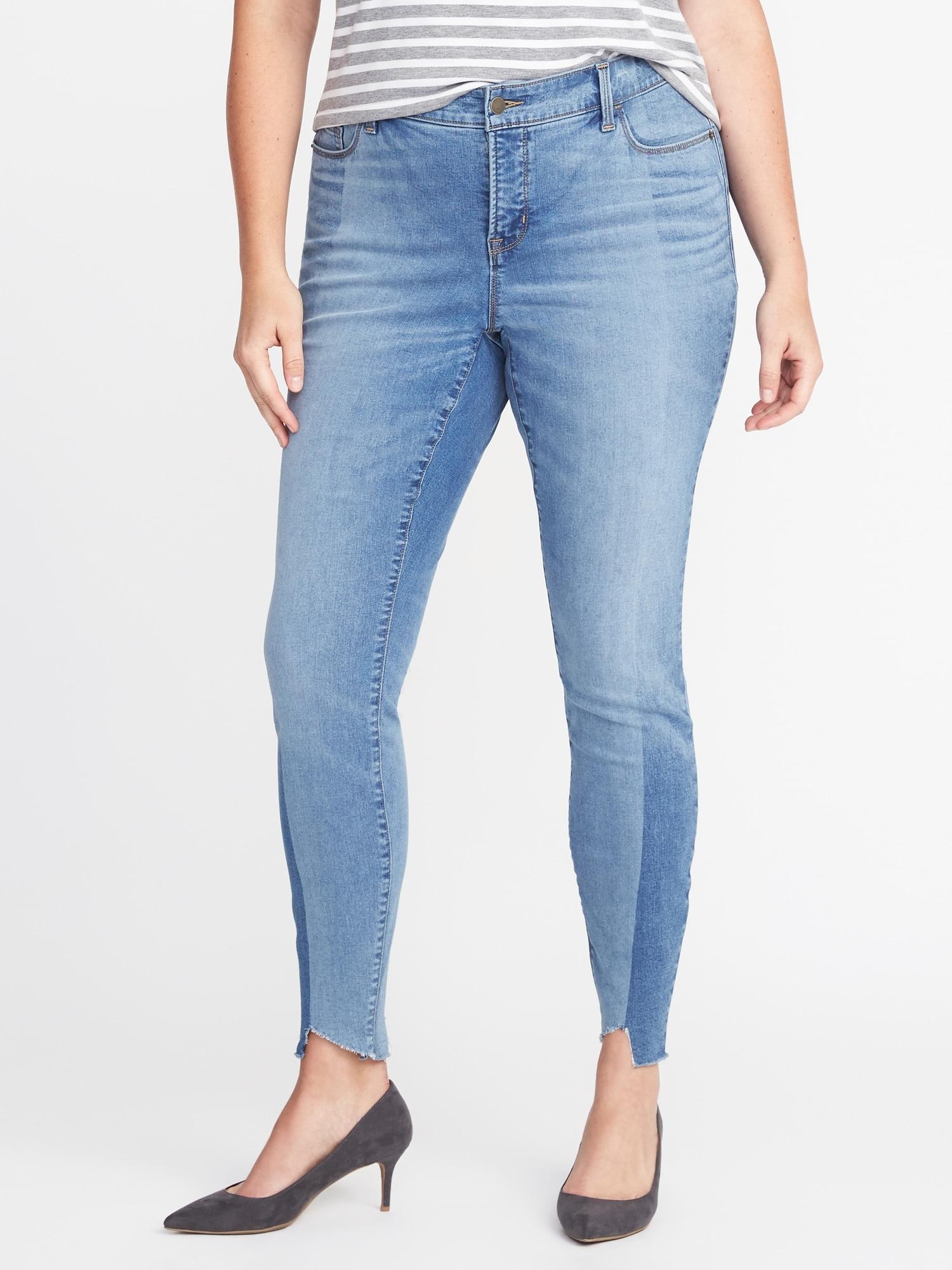 e2697c11bf36e High-Rise Secret-Slim Pockets Plus-Size Rockstar Jeans
