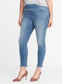 Smooth & Comfort Plus-Size Rockstar Jeans