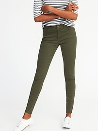 High-Rise Rockstar Sateen Jeans for Women