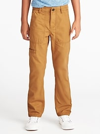 Slim Ripstop-Canvas Utility Pants for Boys