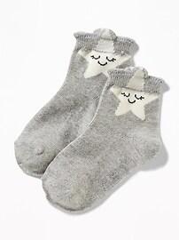 Chaussettes imprimées pour toute-petite fille
