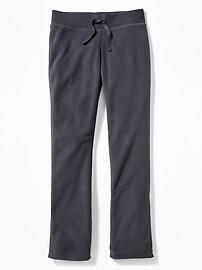 Pantalon moulant en micromolleton pour fille