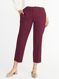 Mid-Rise Fitted Harper Pants for Women