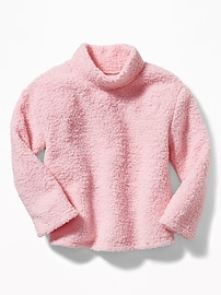 Cozy Mock-Neck Sweatshirt for Girls