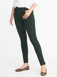 Pantalon Pixie à la cheville en tricot à point, à taille mi-haute avec forme intégrée