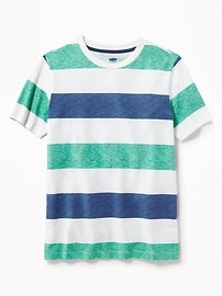 Striped Crew-Neck Tee for Boys