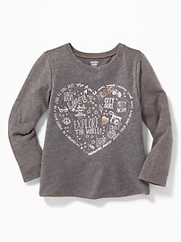 Graphic Tee for Toddler Girls