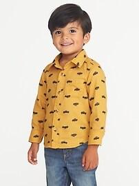 Chemise à imprimé à poche pour tout-petit